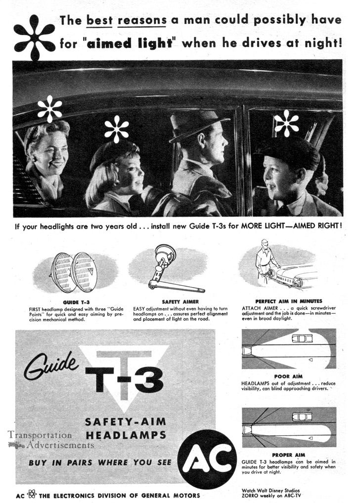 1958 AC Electronics advertisement