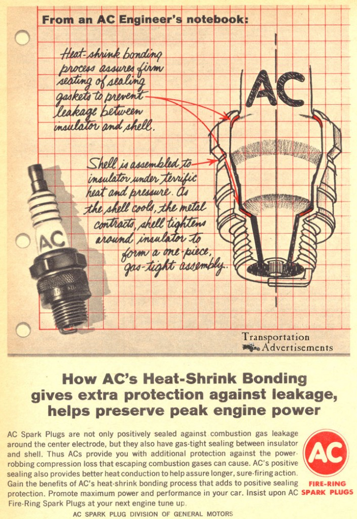1966 AC Spark Plugs Advertisements