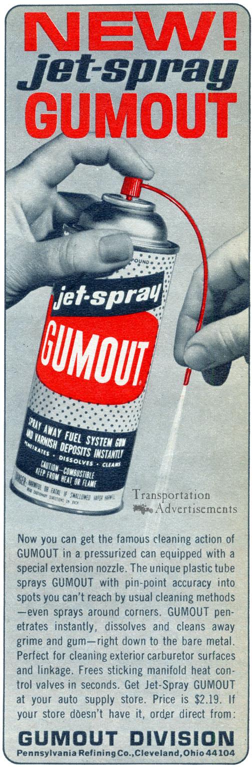 1968 Gumout Advertisement