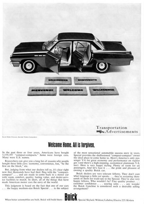 1963 Buick advertisement
