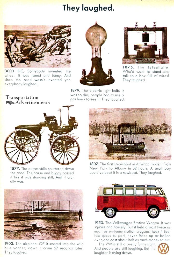 1966 Volkswagen Advertisement