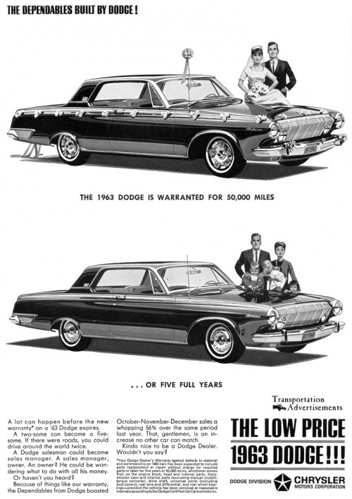 1963 Dodge advertisement