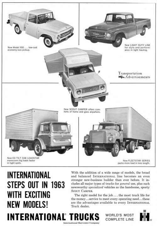 1963 International Trucks Advertisement