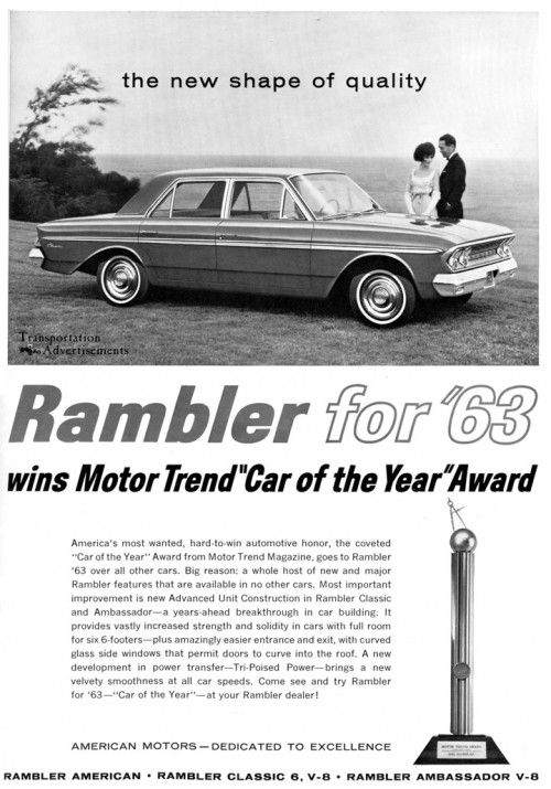 1963 Rambler Advertisement