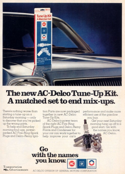 1976 AC Delco tune-Up Kits