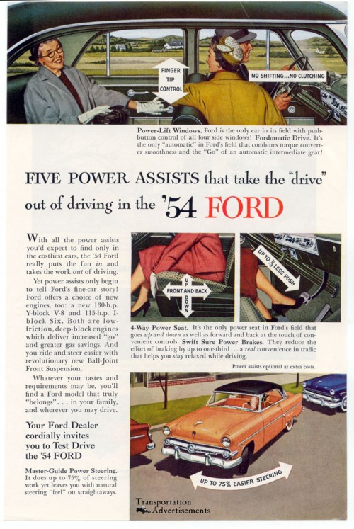 1954 Ford Advertisement