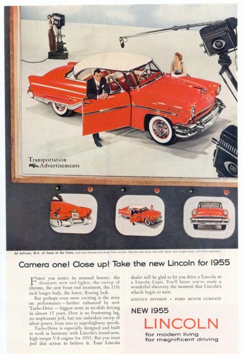 1955 Lincoln Capri Ed Sullivan